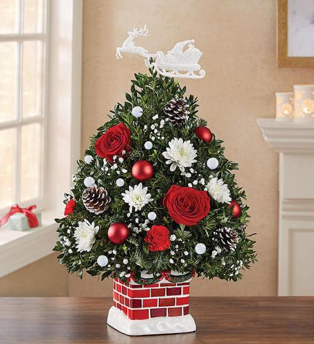 The Night Before Christmas Holiday Flower Tree®
